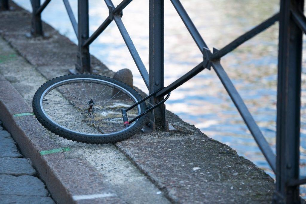 Fahrrad gestohlen - eine Haushaltsversicherung hilft