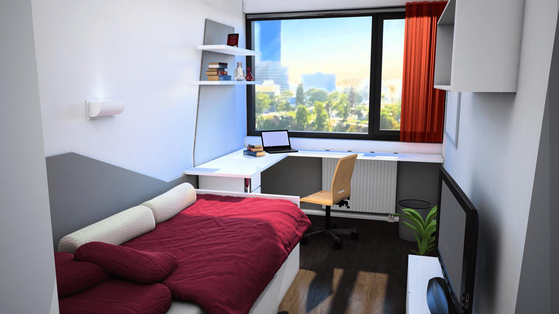 Einzelzimmer Studentenheim Leechgasse