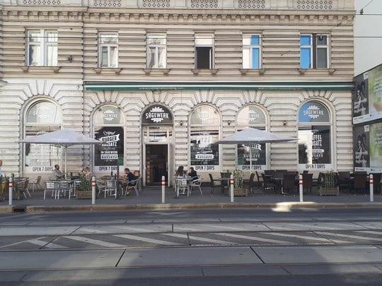 Das Sägewerk in Wien
