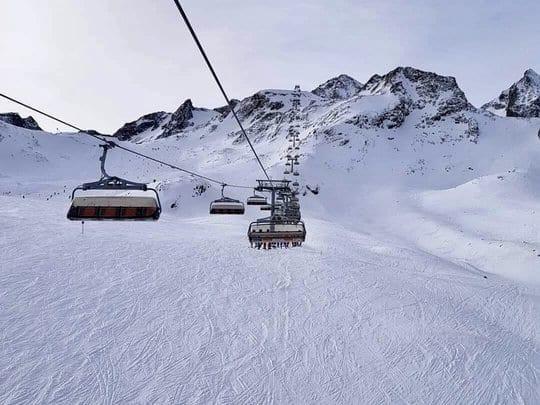 Sessellift Stubaier Gletscher