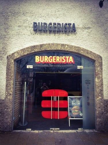 Eingang Burgerista