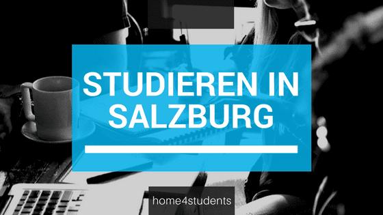 Schriftzug Studieren in Salzburg