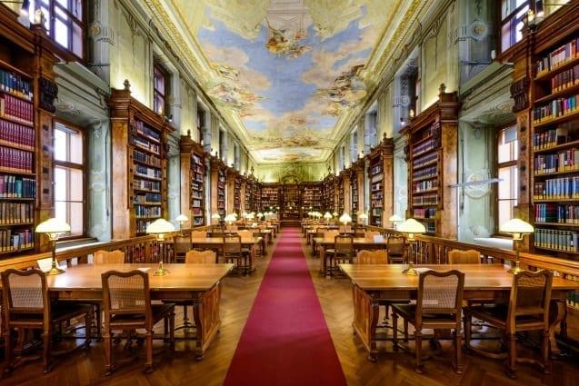Outdoor Lernen - Nationalbibliothek