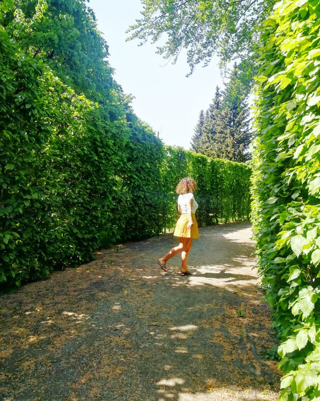 Nena im grünen Schönbrunn