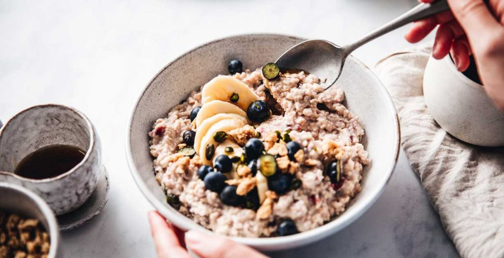Overnight Oats mit Obst